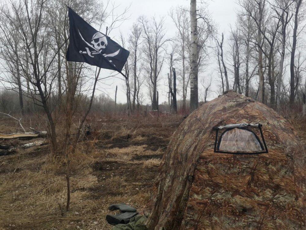 Весенняя охота, Томская область.
