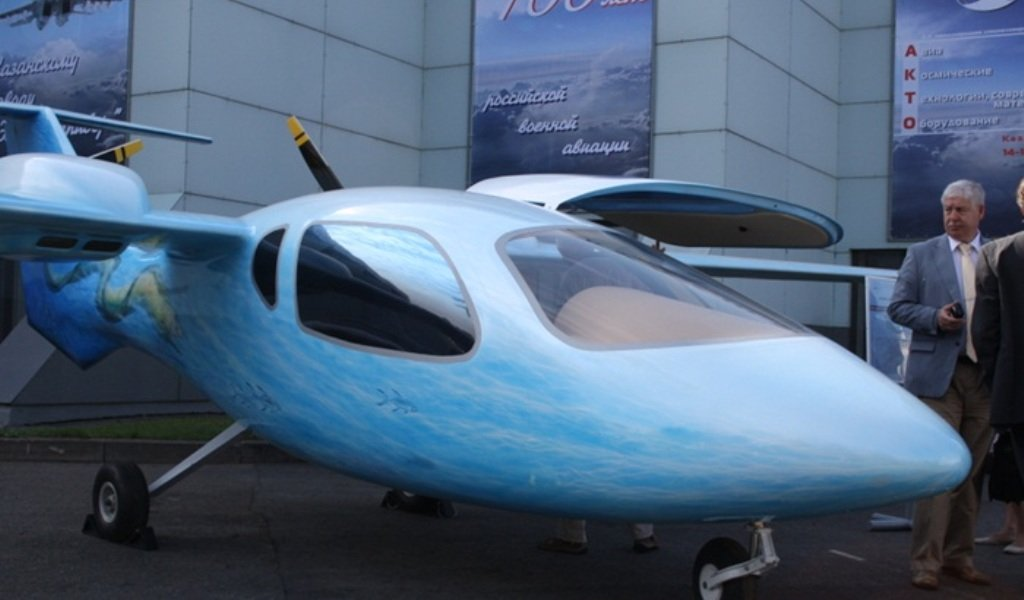 В России построили новый самолет: «Мурена» готова покорять небо