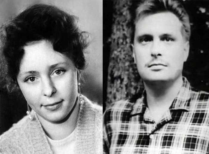 Галина Мшанская и Олег Басилашвили