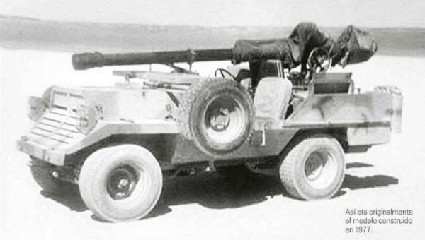 Willys FAMAE Corvo: чилийская реинкарнация «Виллиса»