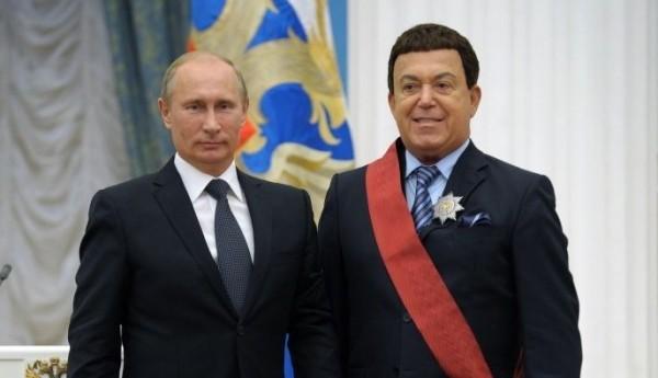 Путин лично простится с Кобзоном
