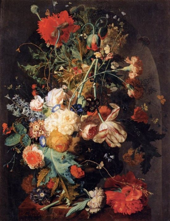 художник Ян ван Хёйсум (Jan Van Huysum) картины - 14