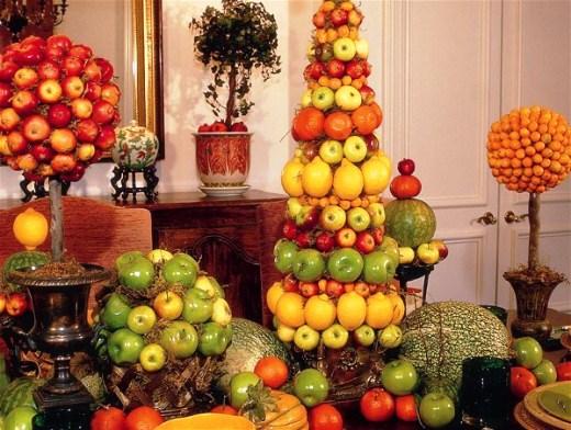 Топиарий своими руками мастер класс из фруктов