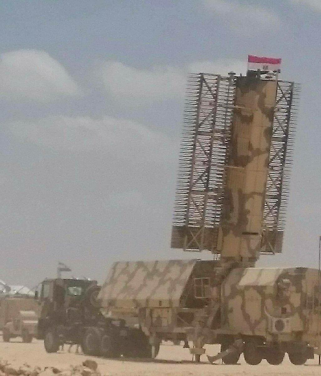 Новейшая российская РЛС 59Н6Е «Противник-ГЕ» в Египте