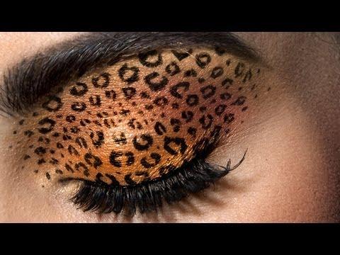 Leopard Eyes: HD Makeup Tutorial Farmasi