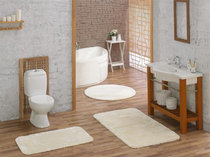 Основным свойством, которым должен обладать коврик – это влагоустойчивость.
