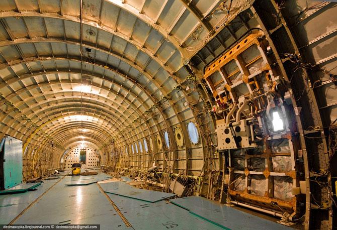 Прогулка по Сибирскому научно-исследовательскому институту авиации