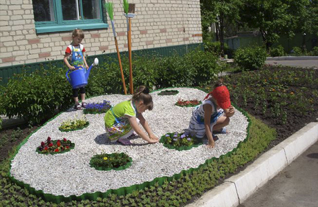 Дизайн участка в детском саду своими руками фото - Val-spb.ru