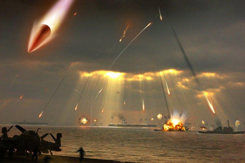 ... и малый ракетный корабль авианосец завалит...