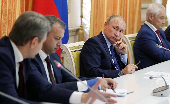 Как Путин стал Путиным (Печат, Сербия)
