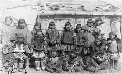 Инуиты в школе