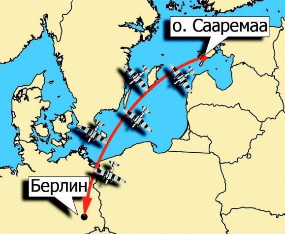 Как СССР бомбил Берлин летом 1941 года.