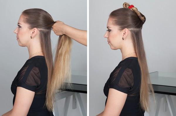Мастер класс укладок волос феном