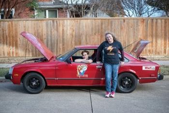 Подросток собрал электромобиль из старой Toyota