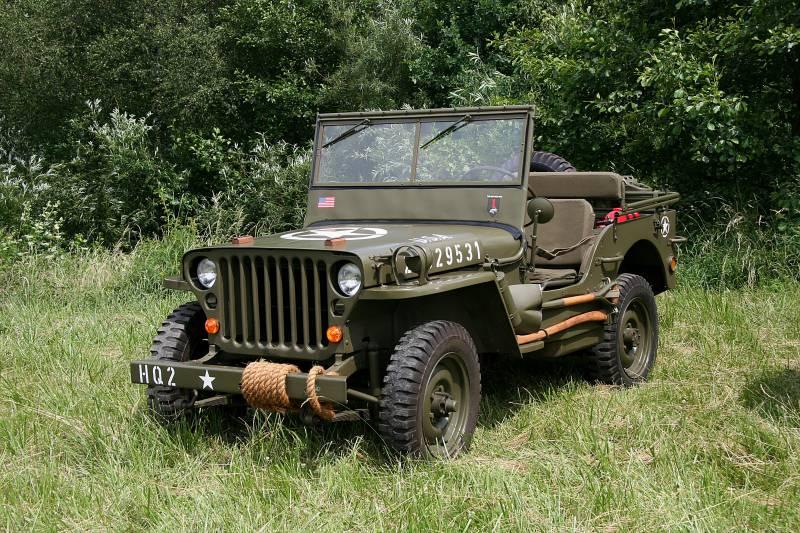 Willys MB: самый массовый джип Второй мировой войны