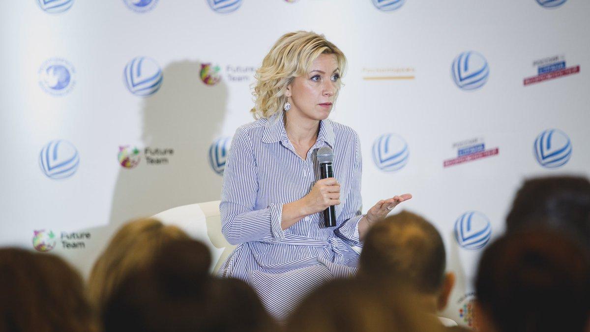 «Жду ответа»: Захарова ответила на заявление Чубайса