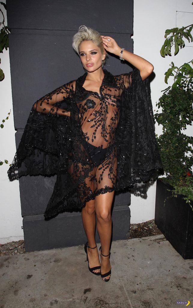 Прозрачное платье – это круто!