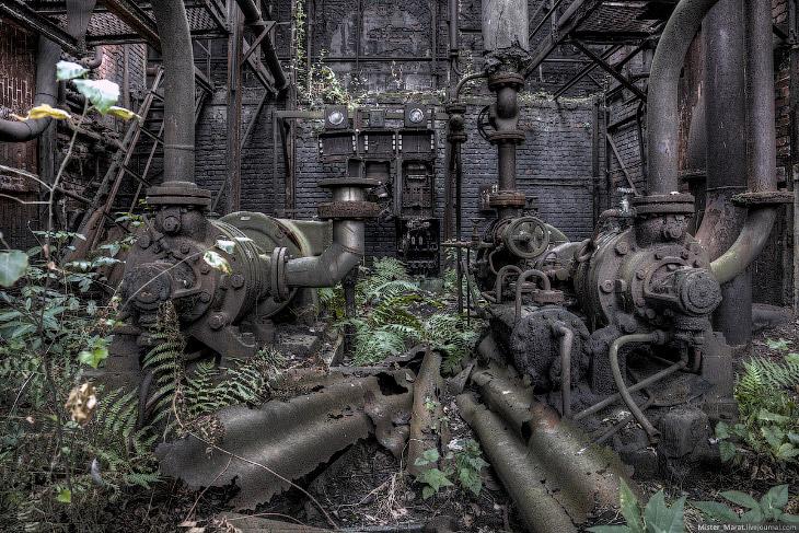 Заброшенные заводы Бельгии. Часть 2