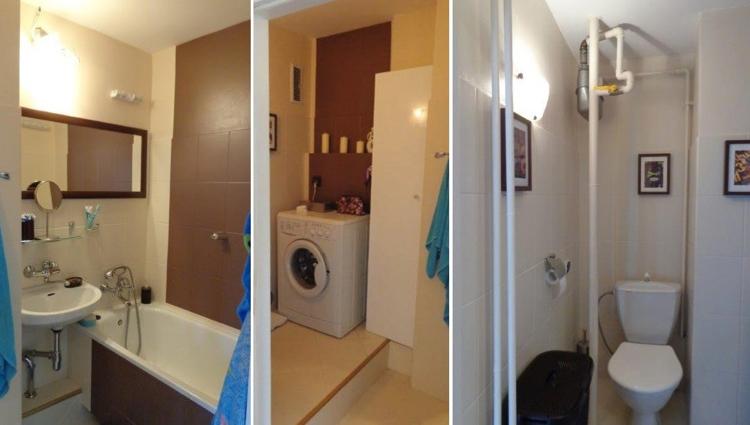 ремонт маленькой ванной комнаты фото до ремонта