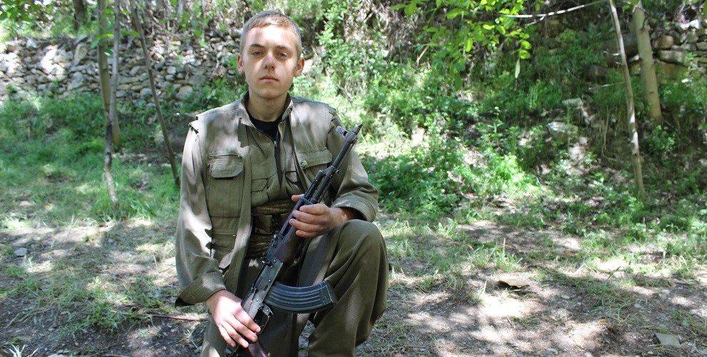 Курдский партизан Якоб Ример