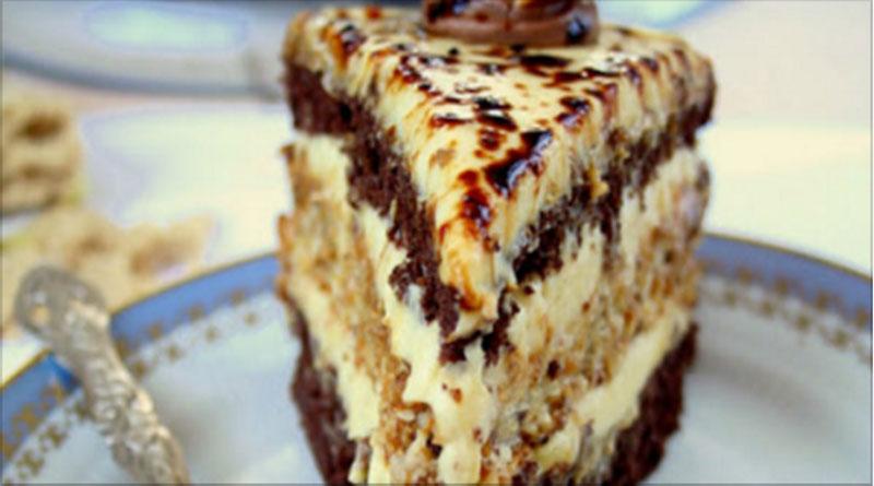 Торт «Халва»: Очень необычно и вкусно