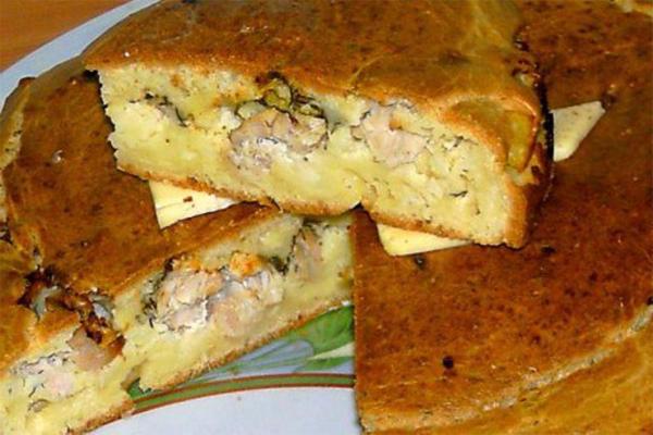 Пирог с курицей. Секретный рецепт моей свекрови.