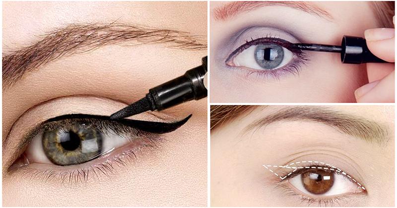 4 основные ошибки макияжа с подводкой для глаз