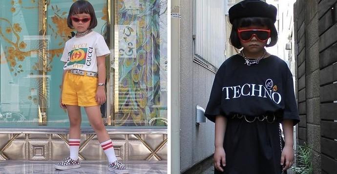 Коко — 6-летняя модница из Японии, которая одевается лучше, чем многие взрослые дети, люди, мода, модница, одежда, япония