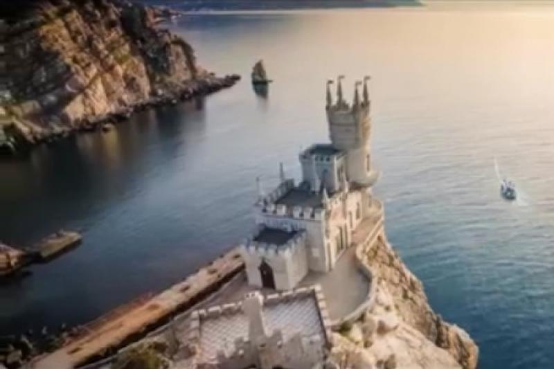 Столько красивых мест на Украине - и те в России. Организаторы «Евровидения» рекламируют Крым