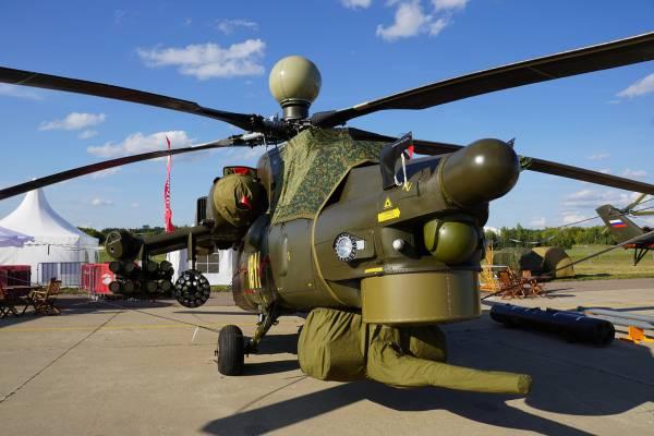 Модифицированные МИ – 28нм примут на вооружение Российские ВВС к ноябрю