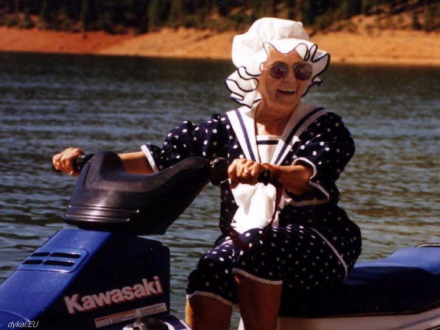 У меня есть план на старость: хочу превратиться в бабу Зину!