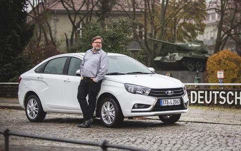 Плохой робот, хороший дизайн - Lada Vesta на тестах европейцев