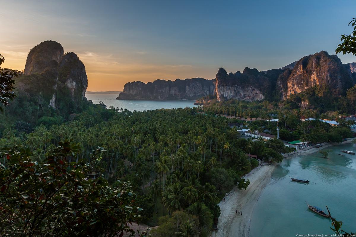 По пляжам Андаманского моря. Пляж Рейли