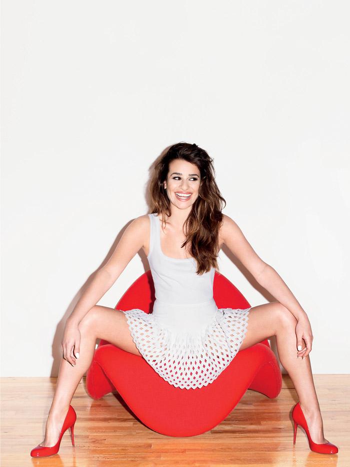 Лиа Мишель в фотосессии Терри Ричардсона для журнала V (весна 2014)