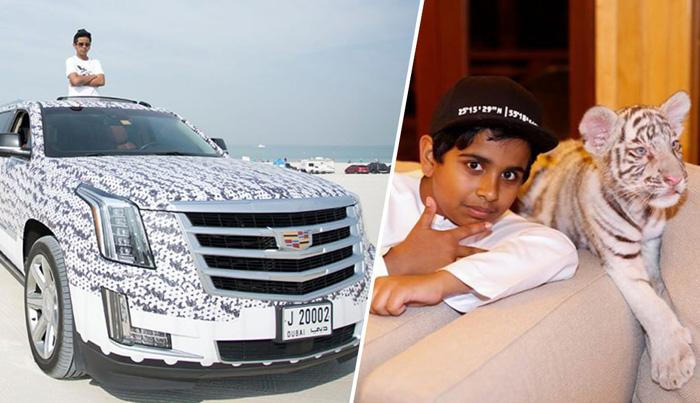 Самый молодой богач Дубая: Роскошная жизнь 15-летнего Рашида Бельхаса