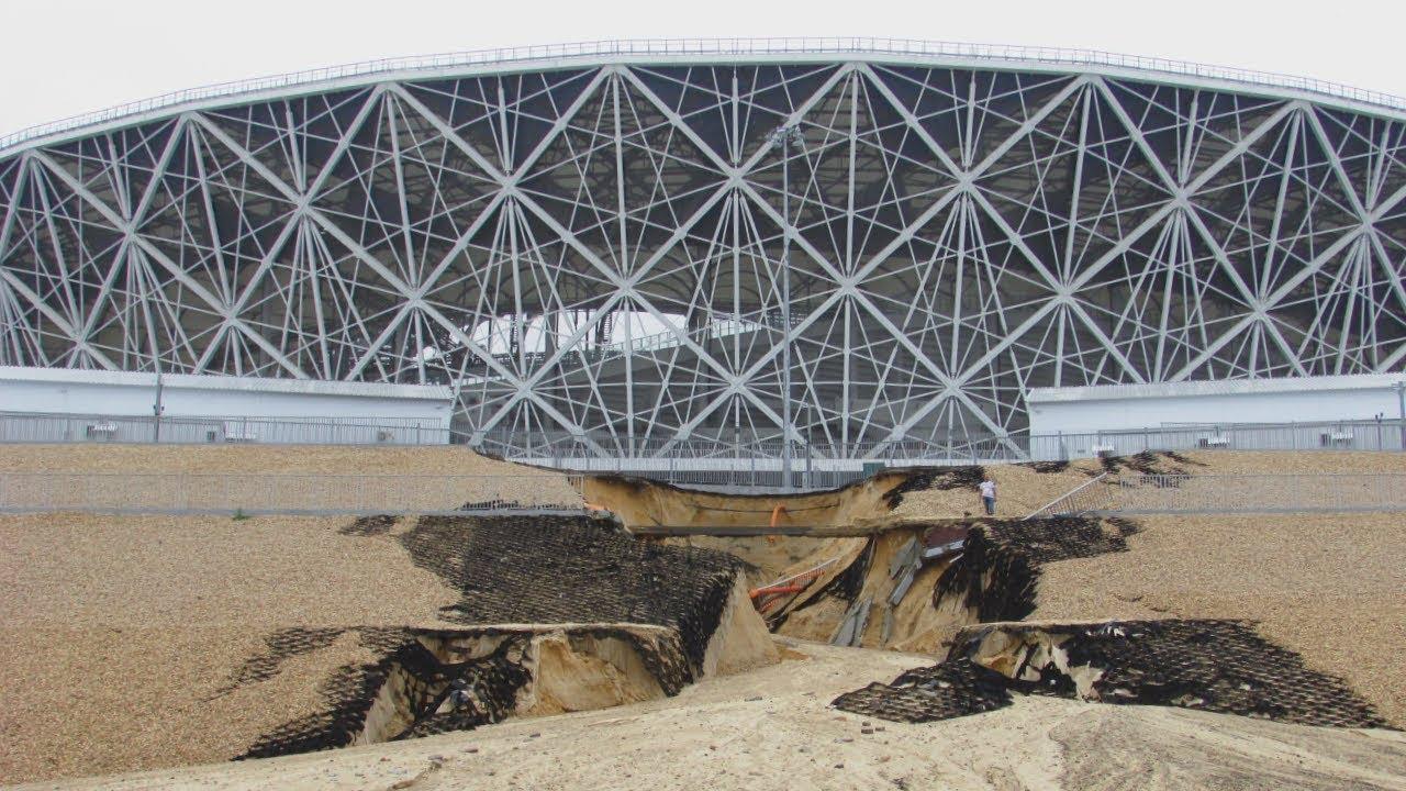 Как раздули тему «размытого стадиона» в Волгограде