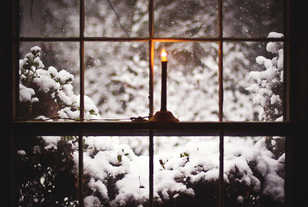 Белый снег для меня