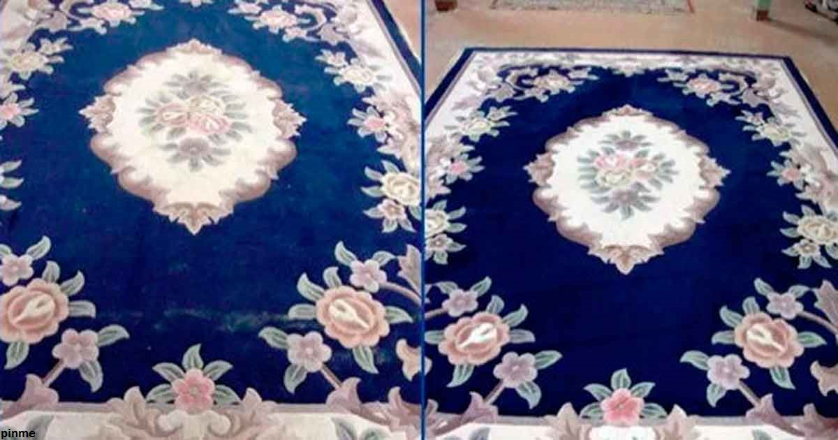Не надо выбивать ковры: есть способ полегче, чтобы их вычистить
