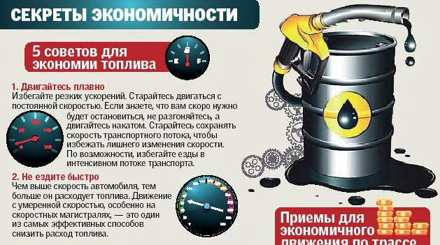 Как сделать  экономию топлива 197