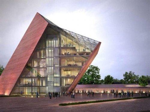 Самые необычные и удивительные по архитектуре музеи мира (34 фото)