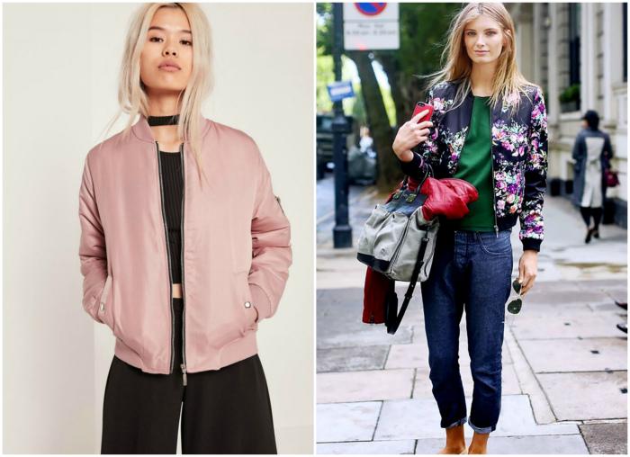 Куртка бомбер.   Фото: Fashion Trends.