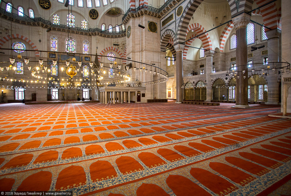 Красивейшие мечети османских султанов в Стамбуле