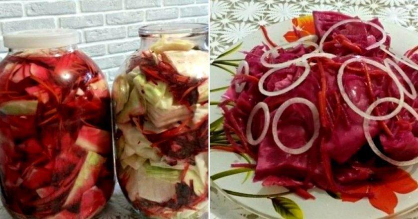 Маринованные овощи в банке
