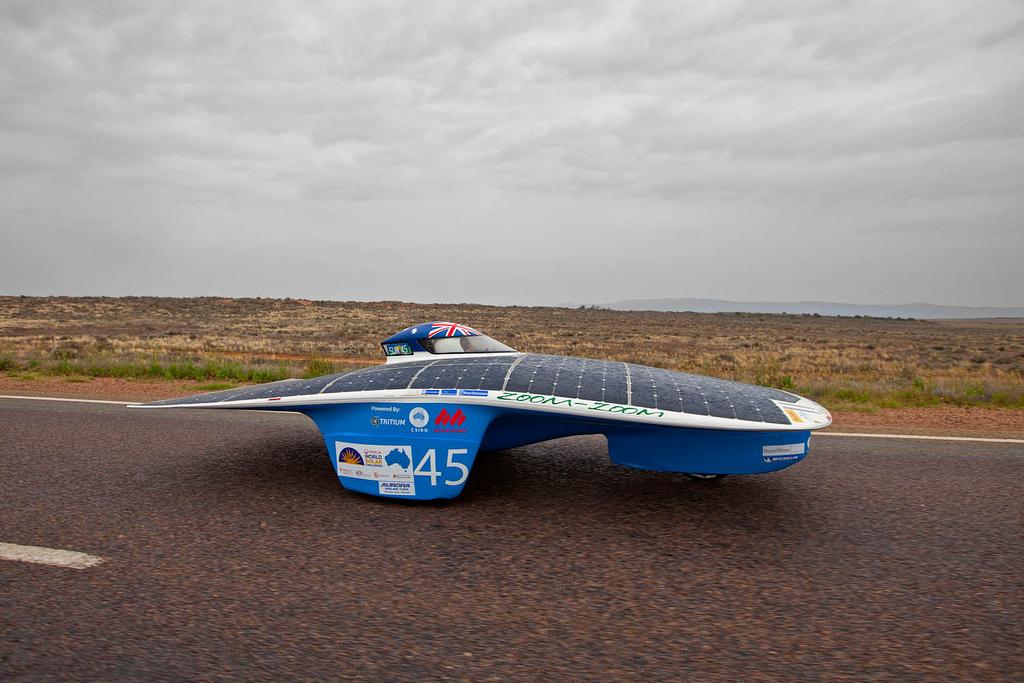 1316 Автомобили на солнечной тяге