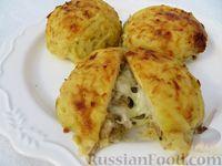 Фото приготовления рецепта: Запечённое мясо в картофельной шубке - шаг №14