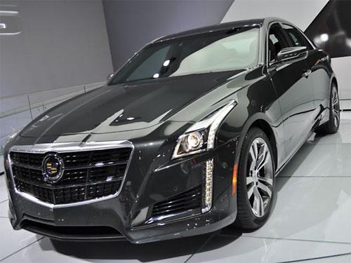 Cadillac выводит на российский рынок новый CTS