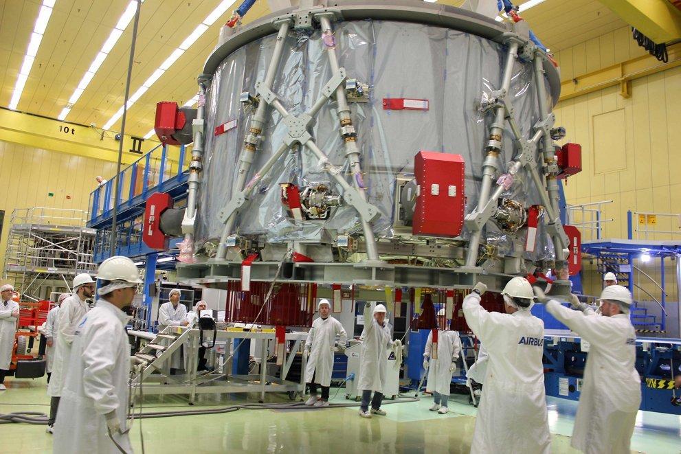 NASA получило европейский модуль для корабля «Орион»