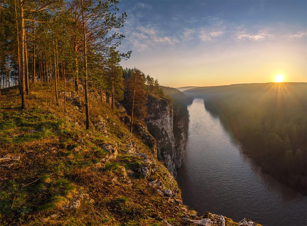 Из разряда нереальных миров, чистых и волшебных... Южный Урал, Зюраткуль
