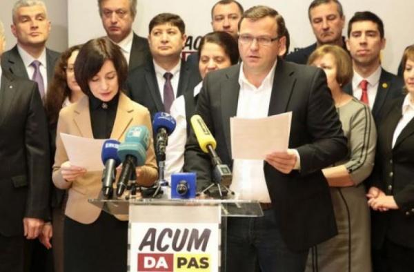 Молдавская оппозиция небудет договариваться сполитическими конкурентами