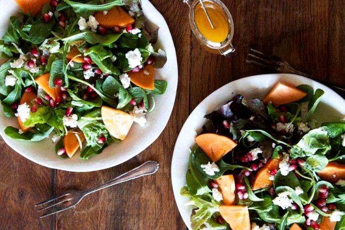 Тёплый салат с тыквой и мандаринами.  Фото: google.com.ua.